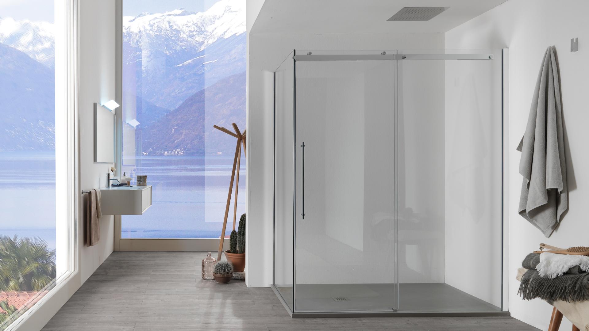 Corner Shower Cabins
