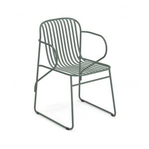 Riviera 435 stackable chair steel structure suitable for contract use by Emu buy online on www.sedie.design
